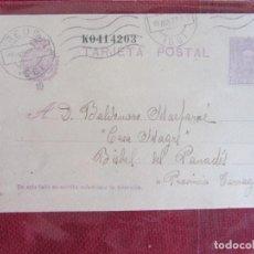 Sellos: TARJETA POSTAL 1927. Lote 144904078