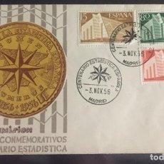 Sellos: I CENTENARIO DE LA ESTADISTICA ESPAÑOLA. Lote 154924450