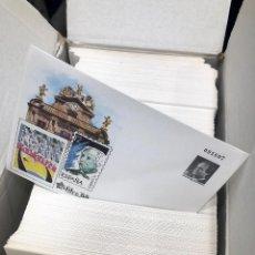Sellos: LOTE DE 500 SOBRES ENTERO POSTALES EXFILNA 1988 PAMPLONA. FÁBRICA NACIONAL DE MONEDA Y TIMBRE.. Lote 155820986