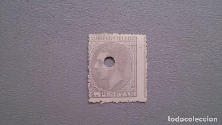 ESPAÑA - 1879- ALFONSO XII - TELEGRAFOS - EDIFIL 208T. (Sellos - España - Dependencias Postales - Telégrafos)
