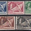 Sellos: ESPAÑA, FRANQUICIA POSTAL, 1938 EDIFIL Nº 23 / 27 . Lote 160387650
