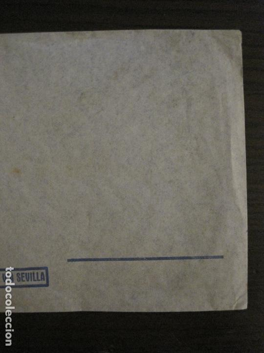 Sellos: CORREO AEREO POR AVION ALEMAN VIA SEVILLA-LUFTHANSA-ZEPPELIN DIRIGIBLE-SOBRE-VER FOTOS-(V-16.991) - Foto 3 - 165108350