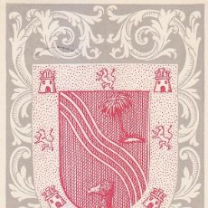Sellos: SAHARA ESCUDO DE EL AAIUN DIA DEL SELLO 1956 (EDIFIL 130) EN BONITA Y RARA TARJETA MAXIMA.. Lote 171135202