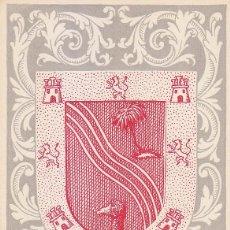 Sellos: SAHARA ESCUDO DE EL AAIUN AYUDA A VALENCIA 1958 (EDIFIL 148) EN BONITA Y RARA TARJETA MAXIMA.. Lote 171530755