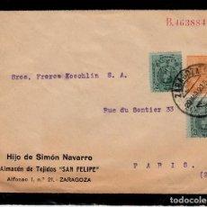 Sellos: ENTERO POSTAL PRIVADO DE HIJO DE SIMON NAVARRO-ALMACEN SAN FELIPE ZARAGOZA -----NO CATALOGADO--1920. Lote 171744144