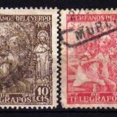 Sellos: GIROEXLIBRIS.- 1938 NIÑOS Y SANTIAGO APÓSTOL SERIE CORTA EDIFIL Nº 16/19. Lote 174441047
