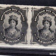 Sellos: SOCIEDAD DEL TIMBRE LERIDA. Lote 177021198