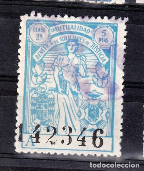 AUXILIARES DE JUSTICIA (Sellos - España - Dependencias Postales - Beneficencia)