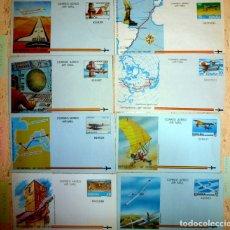 Sellos: AEROGRAMAS AÑO 1981- FOTO 642 - 8 DIFERTENTES (VER DESCRIPCION). Lote 178122143