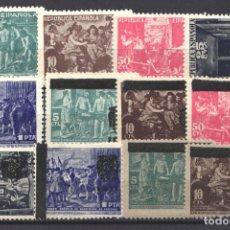 Sellos: ESPAÑA, BENEFICENCIA 1938 LOTE DE SELLOS NUEVOS, . Lote 180018296
