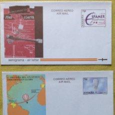 Sellos: ESPAÑA SPAIN AEROGRAMA. Lote 180815615