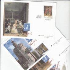 Sellos: 1999 5 SOBRES ENTERO POSTALES IV CENTENARIO NACIMIENTO VELAZQUEZ NUMS. 55 Y 56. Lote 181026851