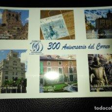 Sellos: ESPAÑA ENTERO POSTAL 300 ANIVERSARIO DE CORREOS. Lote 181098825