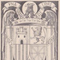 Sellos: IFNI ESCUDO DE ESPAÑA DIA DEL SELLO 1956 (EDIFIL 132) EN BONITA Y RARA TARJETA MAXIMA. MPM.. Lote 10615975