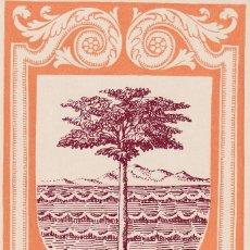 Sellos: GUINEA ESPAÑOLA ESCUDO DE BATA DIA DEL SELLO 1956 (EDIFIL 363) EN BONITA Y RARA TARJETA MAXIMA. MPM.. Lote 38692194