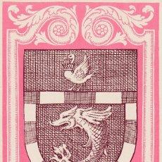 Sellos: SAHARA ESCUDO DE VILLA CISNEROS DIA DEL SELLO 1956 (EDIFIL 131) EN BONITA Y RARA TARJETA MAXIMA. MPM. Lote 40743822
