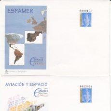 Sellos: 2 SOBRES ENTERO POSTALES - 1996 - ESPAMER NUMS. 33 - 34 . Lote 183486126