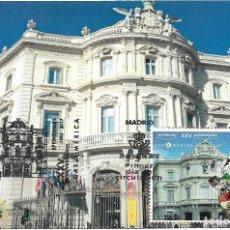 Sellos: ESPAÑA. TARJETA MAXIMA PRIMER DIA. CASA DE AMERICA. MADRID 2019. Lote 184481107