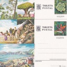 Sellos: JUEGO ENTEROS POSTALES Nº 115/116 TURISMO DE CANARIAS NUEVOS SIN SEÑAL DE FIJASELLOS. . Lote 186135590