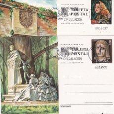 Sellos: JUEGO ENTEROS POSTALES Nº 115/116 TURISMO MATASELLADOS PRIMER DIA . . Lote 186135676