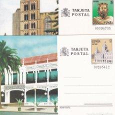 Sellos: JUEGO ENTEROS POSTALES Nº 139/40 TURISMO NUEVOS SIN SEÑAL DE FIJASELLOS. . Lote 186135915