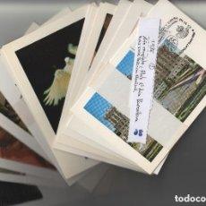 Sellos: 1986 - AÑO COMPLETO EN 48 TARJETAS MÁXIMAS ,MATASELLO PRIMER DIA BARCELONA -TM /TARJETA MÁXIMA. Lote 191127752