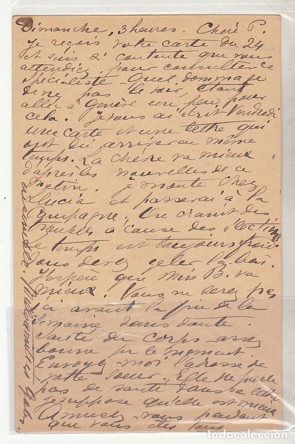 Sellos: E.P.: 0 42. ALFONSO XIII. a GENOVA (SUIZA). 1903 - Foto 2 - 191594948