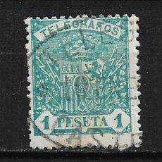 Timbres: ESPAÑA - 1912 TELEGRAFOS - 15/25. Lote 191930030
