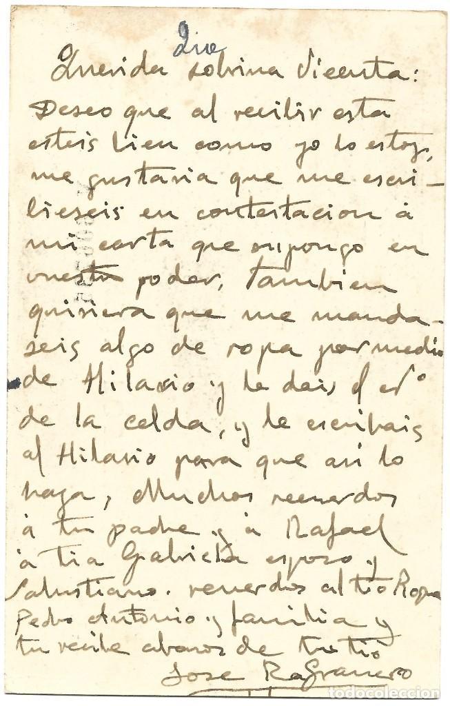 Sellos: ENTERO POSTAL MATRONA REPÚBLICA ESPAÑOLA 15 CENTIMOS CIRCULADA A CHELLA - MATASSELLOS VALENCIA PAIS. - Foto 2 - 197264463