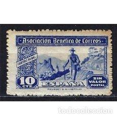 Sellos: ESPAÑA ASOCIACIÓN DE CORRREOS - CARTERO RURAL EDIFIL BENÉFICO 101 MNH** NUEVO SIN FIJASELLOS - ÓXIDO. Lote 208580250