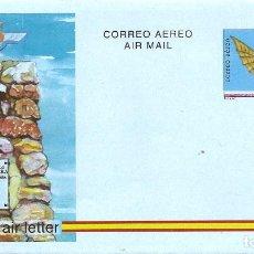 Sellos: ESPAÑA 1993. AEROGRAMAS. CORREO AEREO. II CENTENARIO DEL VUELO DE DIEGO MARIN AGUILERA.. Lote 211617214