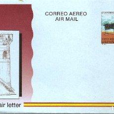 Sellos: ESPAÑA 1994. AEROGRAMAS. CORREO AEREO. 85 ANIVERSARIO DEL PRIMER VUELO EN ESPAÑA. PATERNA 05.09.1909. Lote 211617370