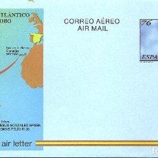 Sellos: ESPAÑA 1997. AEROGRAMAS. CORREO AEREO. PRIMERA TRAVESIOA DEL OCEANO ATLANTICO EN GLOBO. Lote 211617546