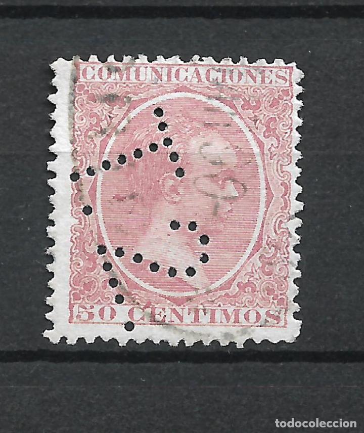 ESPAÑA 1889 EDIFIL 224 T2 - 19/15 (Sellos - España - Dependencias Postales - Telégrafos)