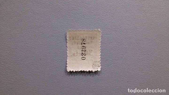 Sellos: ESPAÑA - 1934 - II REPUBLICA - BARCELONA TELEGRAFOS - EDIFIL 6 - MH* - NUEVO - MARQUILLADO. - Foto 2 - 234572425
