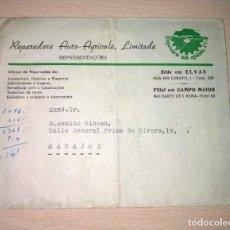 Sellos: CARTA POSTAL, CIRCULADA ELVAS-BADAJOZ, AÑO 1959. Lote 234586660