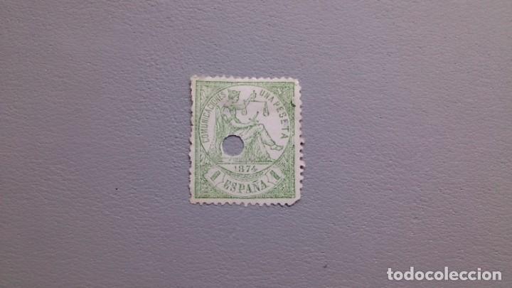 ESPAÑA - 1874 - I REPUBLICA - TELEGRAFOS - EDIFIL 150T. (Sellos - España - Dependencias Postales - Telégrafos)
