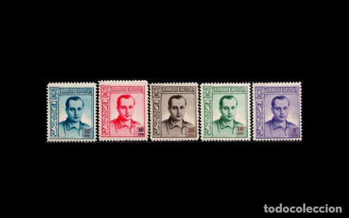 ESPAÑA - 1937 - BENEFICENCIA - EDIFIL NE 14/NE 18 - SERIE COMPLETA - MNH** - NUEVOS - LUJO. (Sellos - España - Dependencias Postales - Beneficencia)