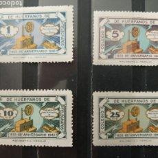 Sellos: ESPAÑA. 1943. COLEGIO HUÉRFANOS TELÉGRAFOS.. Lote 266722238