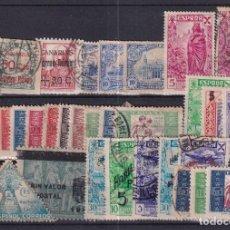 Sellos: SELLOS ESPAÑA OFERTA AÑO 1939 BENEFICIENCIA FICHA LLENA DE SELLOS USADO. Lote 286446373