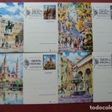 Sellos: ESPAÑA 1973 BARCELONA MADRID CÓRDOBA ZARAGOZA EDFIL 101 /104 1 º DÍA CIRCULACIÓN MADRID. Lote 66059702