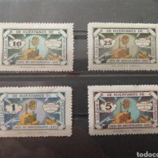 Sellos: ESPAÑA. 1943. COLEGIO HUÉRFANOS TELÉGRAFOS. NUEVOS **. Lote 287445173