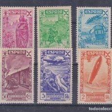 Sellos: ESPAÑA.- BENEFICENCIA 21/26 HISTORIA DEL CORREO NUEVA CON HUELLA DE CHARNELA.. Lote 290887993