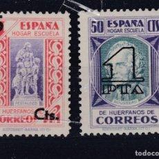 Sellos: ESPAÑA.- BENEFICENCIA 27/28 HISTORIA DEL CORREO NUEVA CON HUELLA DE CHARNELA.. Lote 290888053