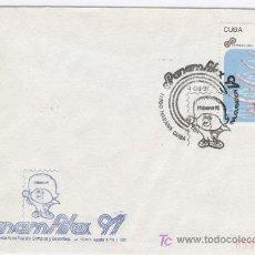 Sellos: EXPO PANAMERICANA FILATELIA OLIMPICA Y DEPORTIVA. CUBA 1991. Lote 19169901