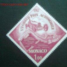 Sellos: AUTOMOVILISMO. 20º GRAN PREMIO DE MONACO. Lote 2238921