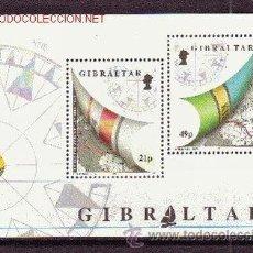 Sellos: GIBRALTAR HB 16*** - AÑO 1992 - REGATA NAUTICA ALREDEDOR DEL MUNDO 1991-1992. Lote 22034422