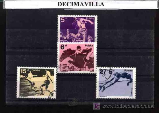 DEPORTES, POLONIA, 1983, L104, SERIE USADA Y COMPLETA (Sellos - Temáticas - Deportes)