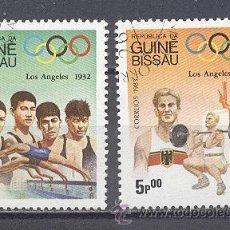 Sellos: JUEGOS OLIMPICOS DE LOS ANGELES 1932- GUINEA BISSAU. Lote 22193301