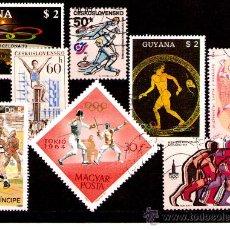 Sellos: LOTE SELLOS -TEMATICA OLIMPIADAS / DEPORTES / OLIMPICOS (AHORRA COMPRANDO MAS SELLO. Lote 22277148